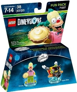 LEGO Dimensions 71227 Fun Pack The Simpsons Krusty