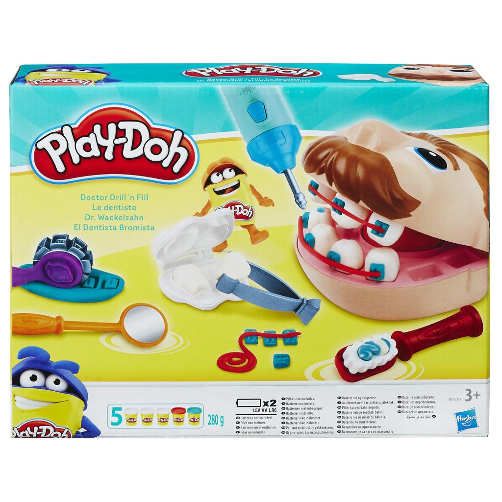 All4toys Play-Doh zubař drill' n fill