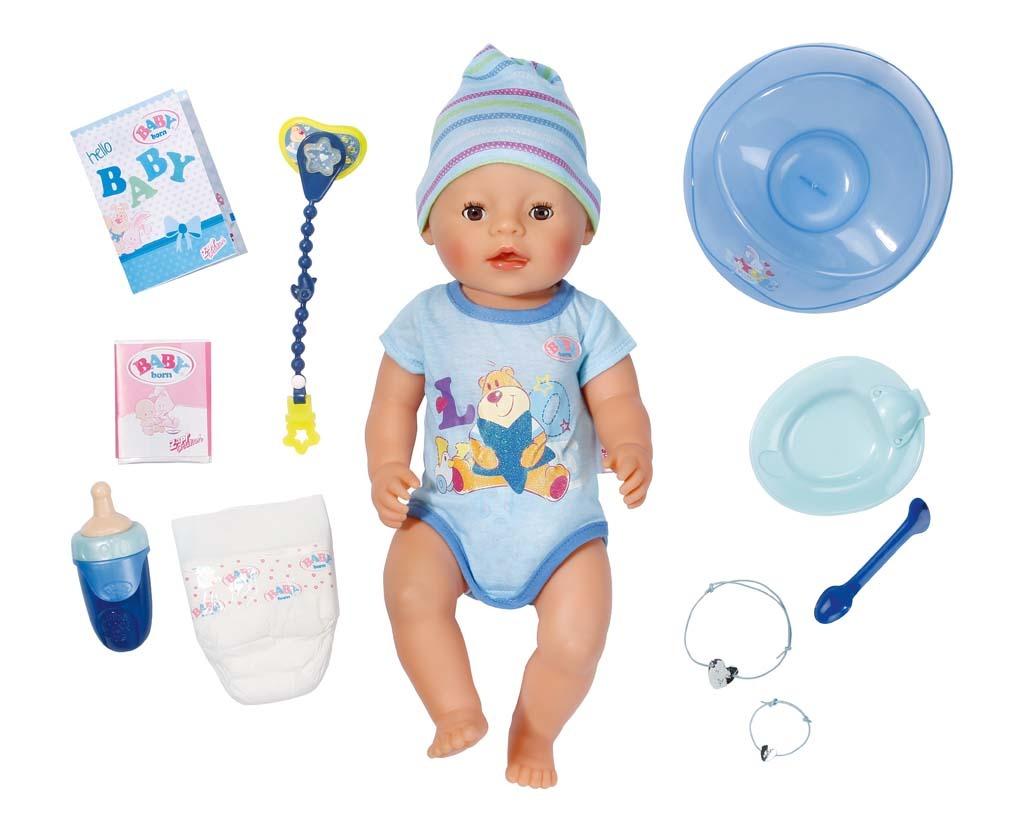 All4toys Interaktivní BABY born®, chlapec