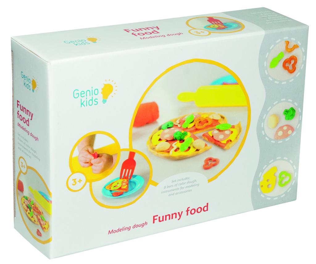 All4toys Modelína - kreativní sada Veselé jídlo