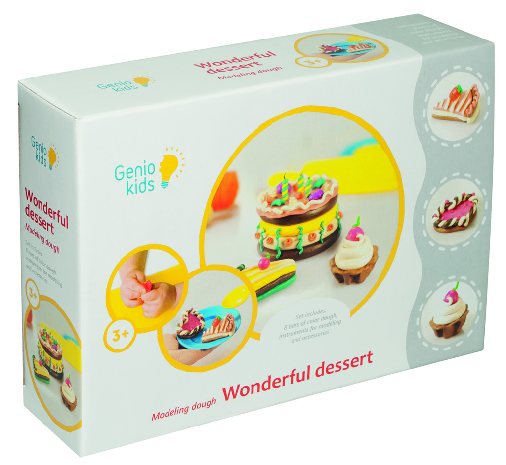 All4toys Modelína - kreativní sada Báječné dortíky