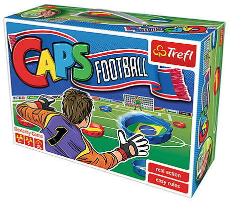 All4toys Hra Caps Football