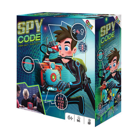 All4toys Cool games Spy code - Sejf