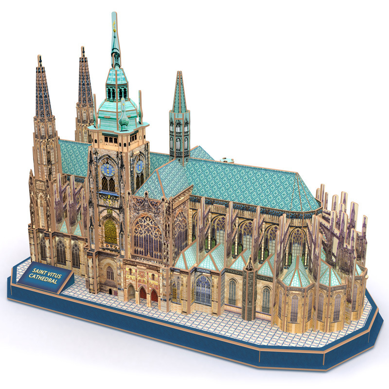All4toys Puzzle 3D Chrám Sv. Víta