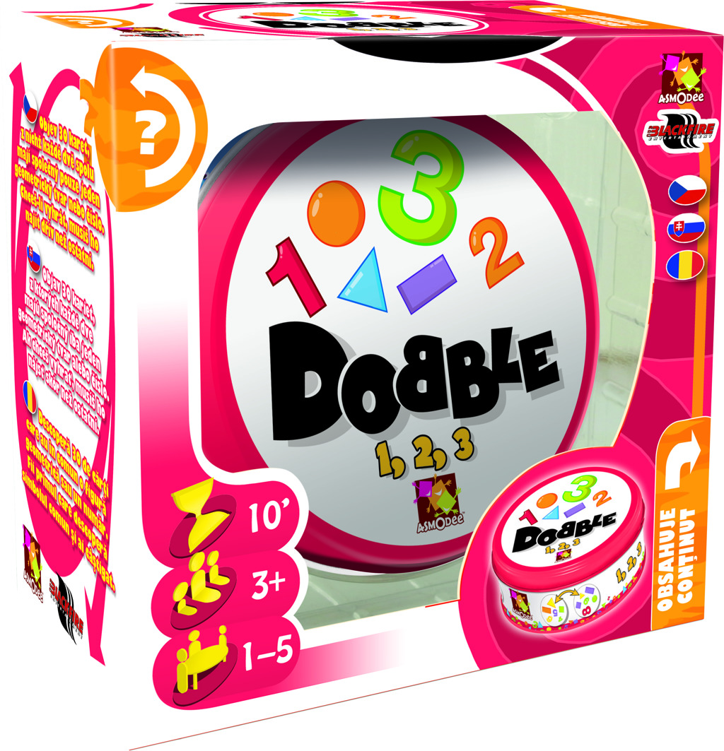 All4toys Dobble 1-2-3