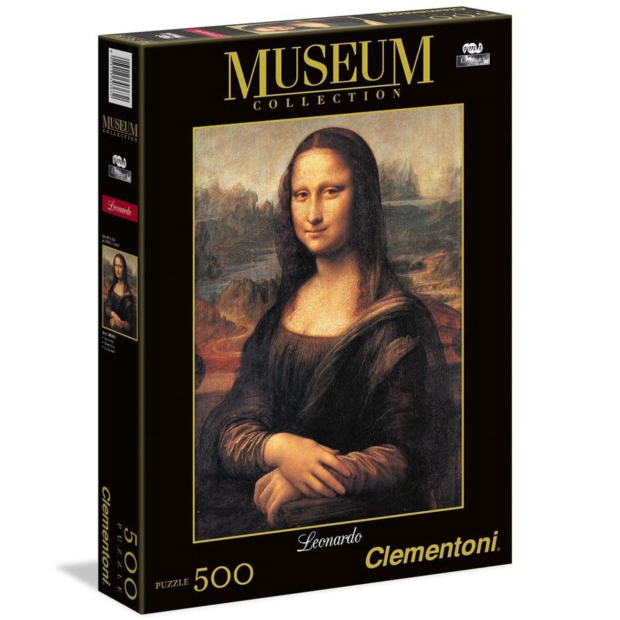 All4toys Puzzle Museum 500 dílků Mona Lisa