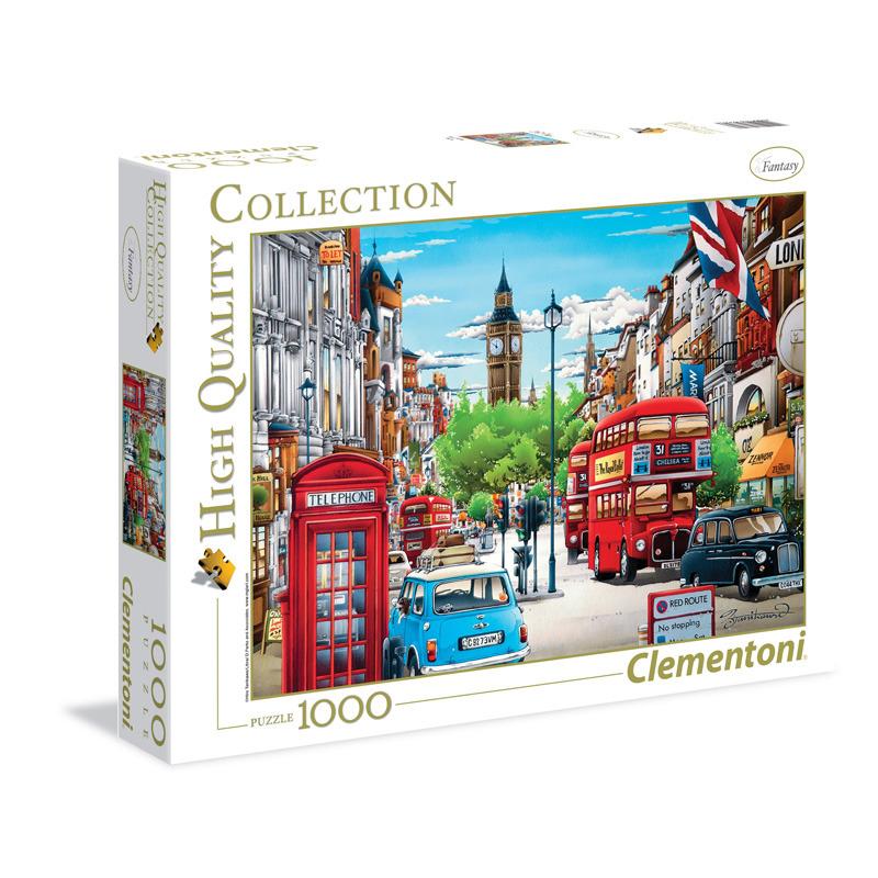 All4toys Puzzle 1000 dílků Londýn