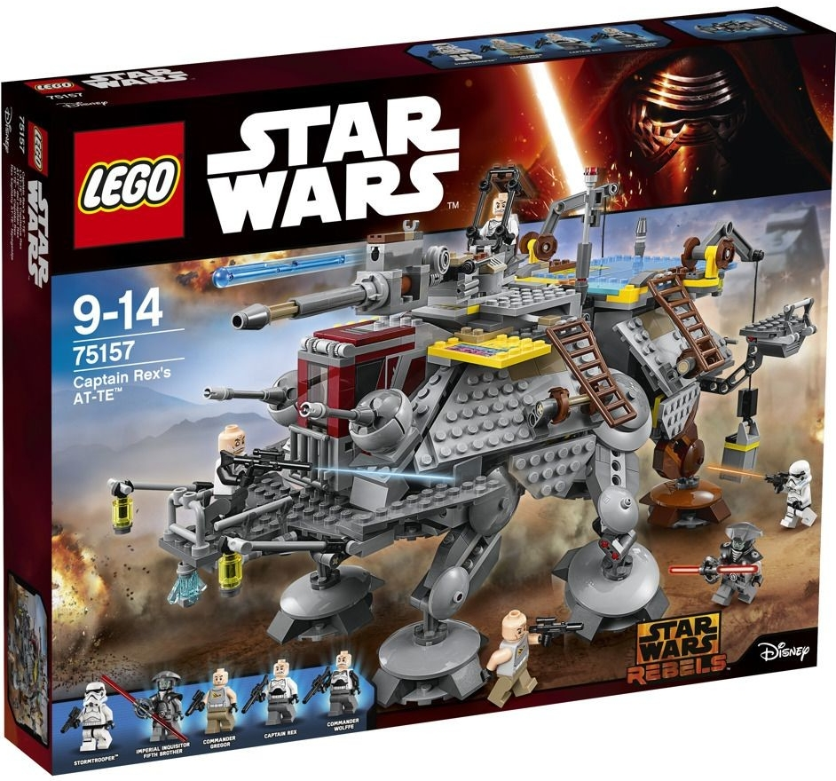 LEGO Star Wars 75157 Captain Rex's AT-TE (AT-TE kapitána Rexe)
