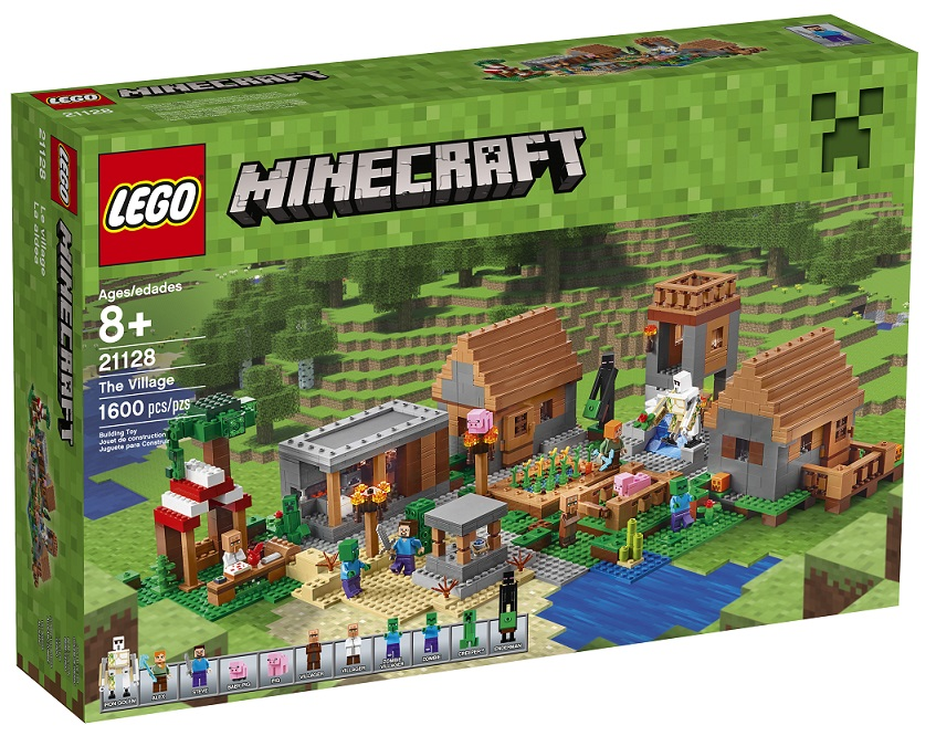 Lego 21128 Minecraft The Village Vesnice