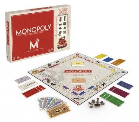 All4toys Hasbro Monopoly k 80. výročí CZ