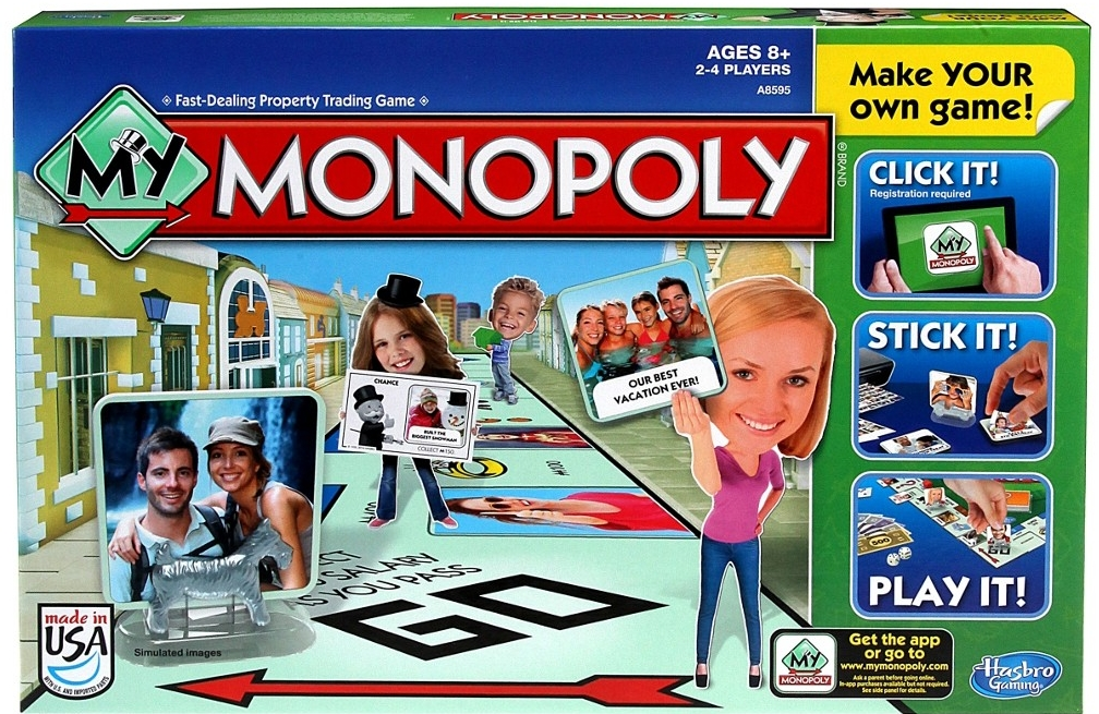 All4toys Hasbro My Monopoly