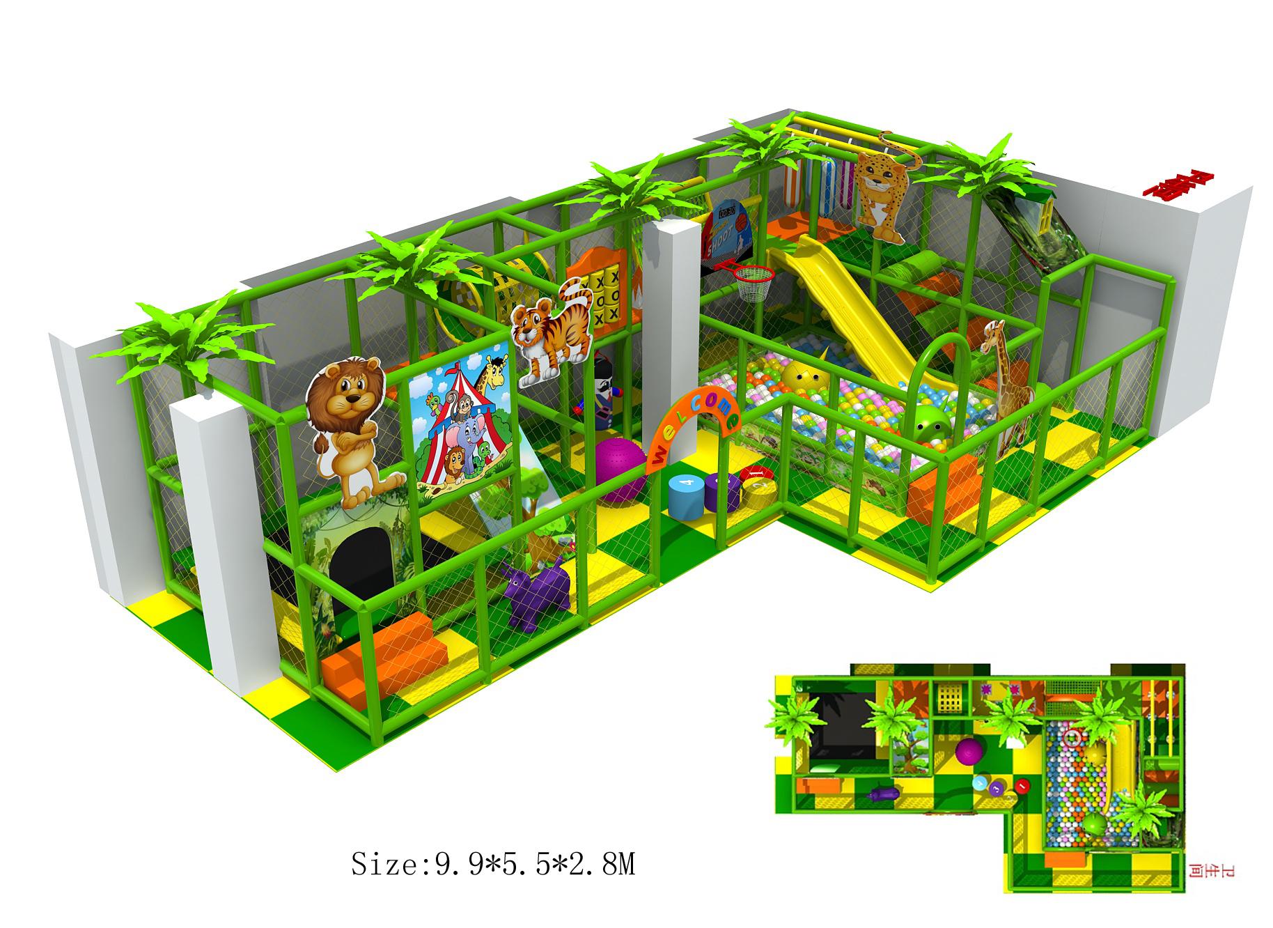 Dětské hřiště 20x 1 hodina