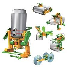 Solar Robot 6v1 Recyklace