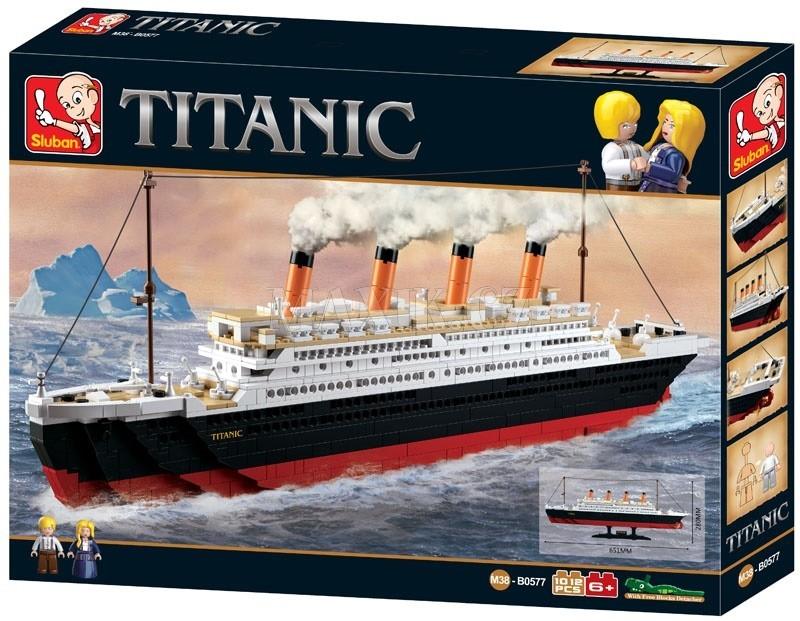Sluban B0577 Titanic velký Stavebnice