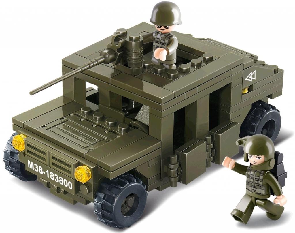 Sluban B0297 Obrněné vozidlo 175 dílů