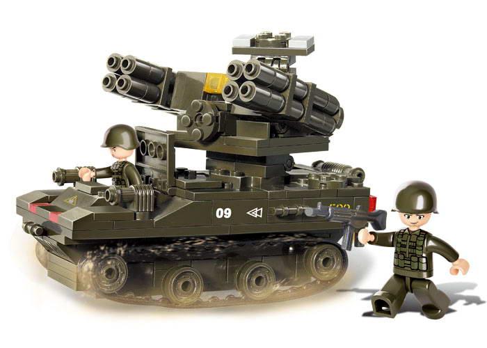 Sluban Army AC M38-B0283 Tank TOR-M1