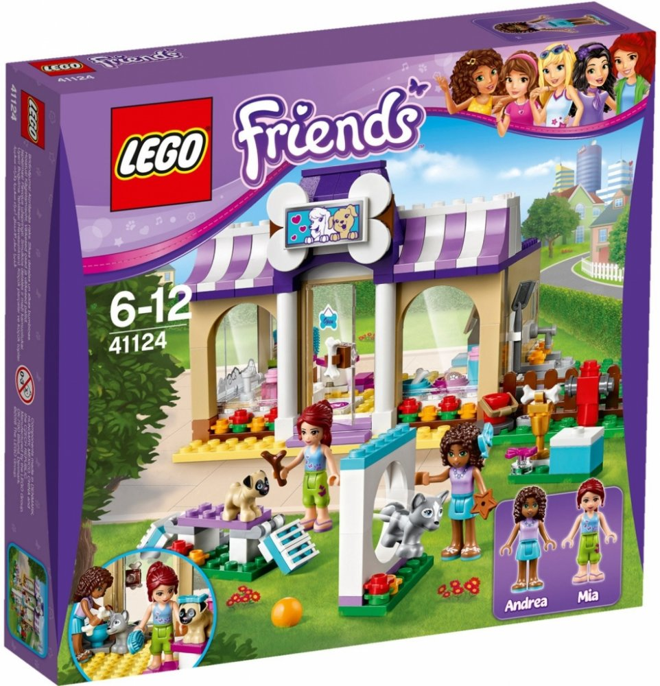 All4toys LEGO Friends 41124 Péče o štěňátka v Heartlake
