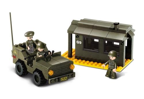Sluban B6100 Army Vojenská stráž 171 dílků