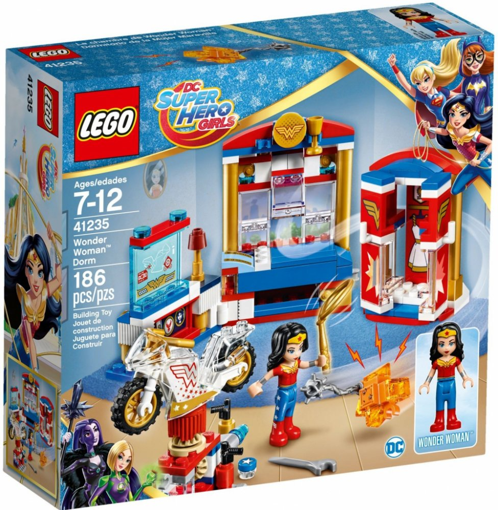 LEGO DC Super Heroes Girls 41235 Wonder Woman a její pokoj