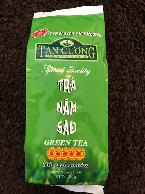 Tan Cuong zelený čaj sypaný 100 g