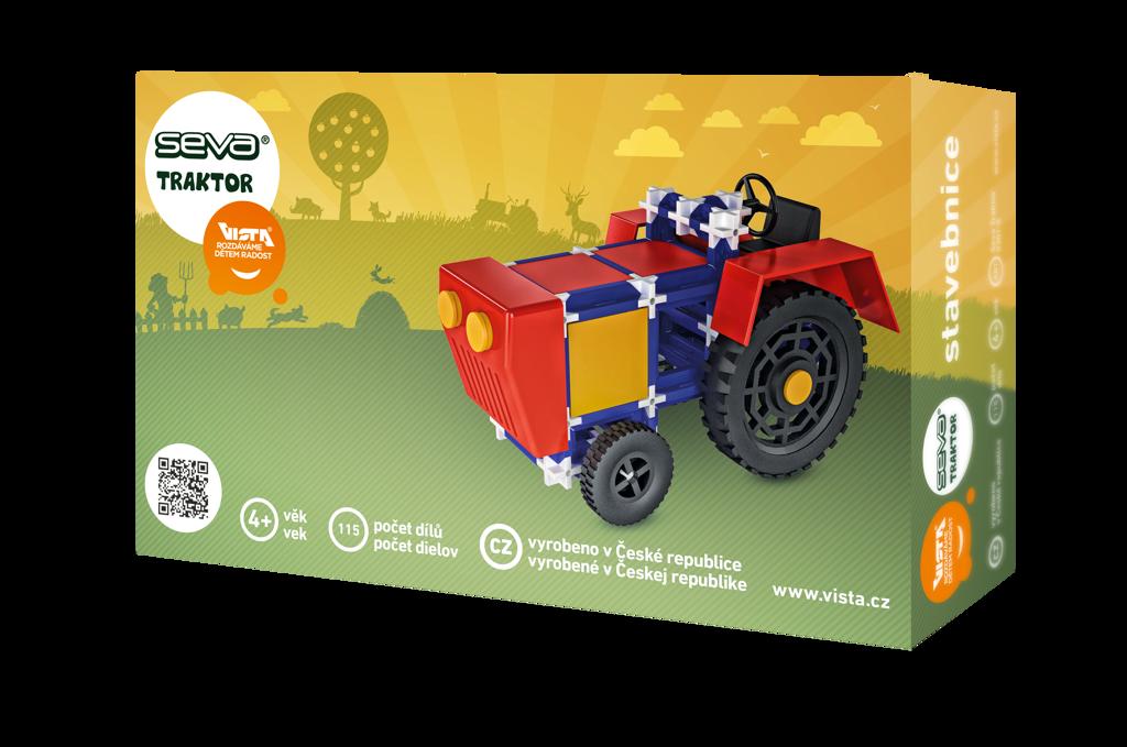 All4toys Seva Traktor