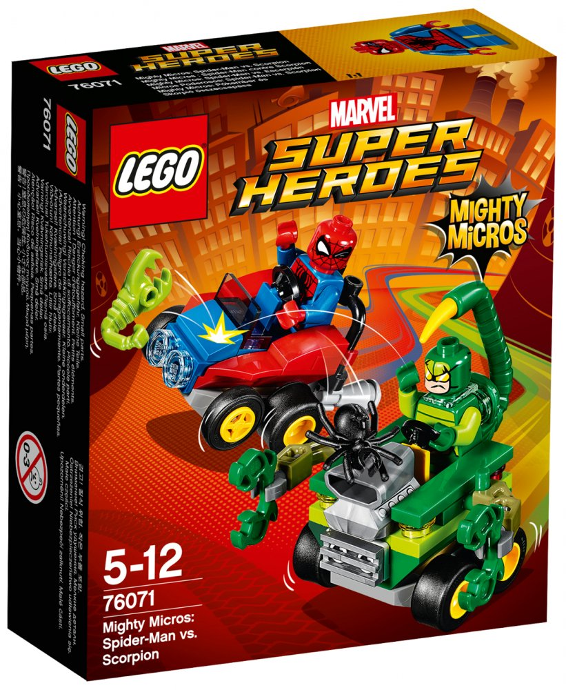 LEGO® Super Heroes 76071 Mighty Micros: Spiderman vs. Škorpion