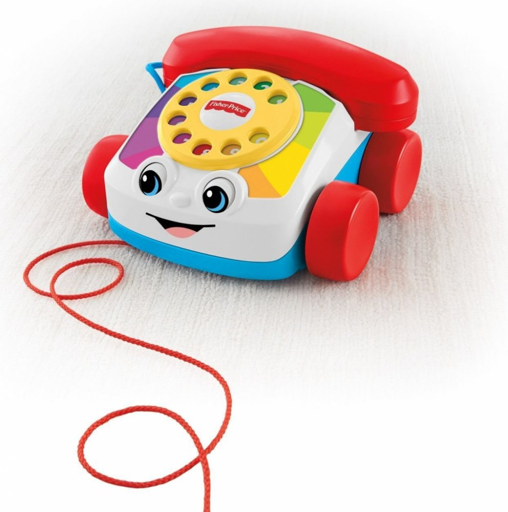 All4toys Fisher price tahací telefon