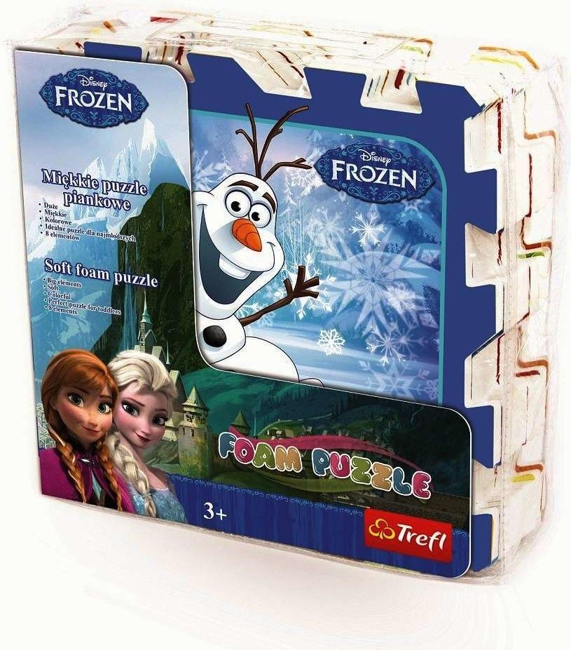 All4toys Pěnové puzzle Frozen