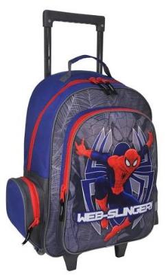 Školní batoh na kolečkách Spiderman