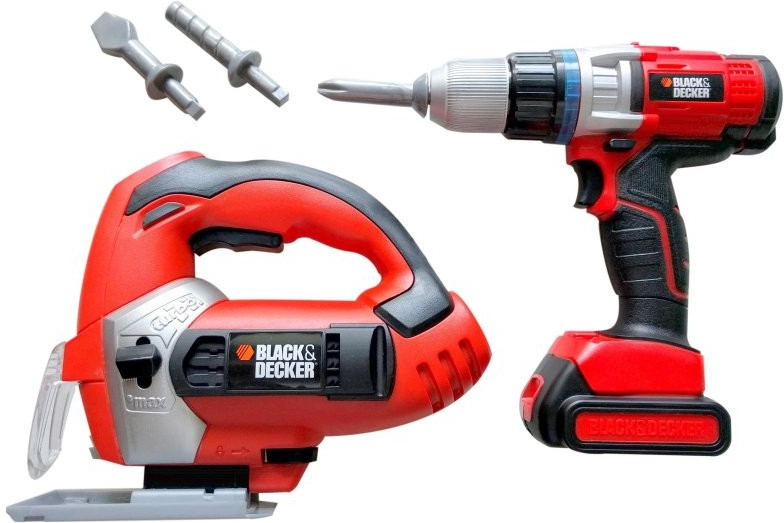 All4toys Kufřík s nářadím Black and Decker