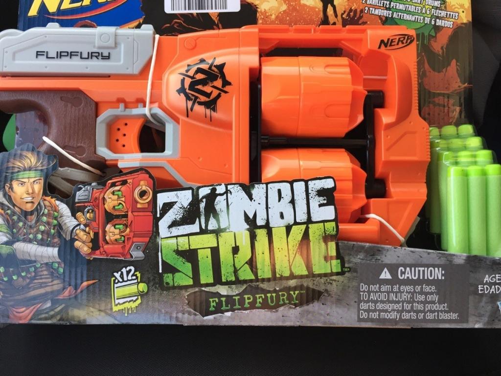 All4toys Nerf Zombie s 2 bubny Hasbro Strike Flipfury