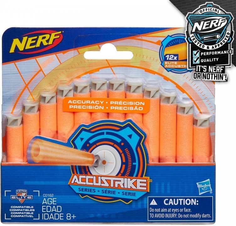 All4toys Nerf accustrike náhradní šipky 12ks