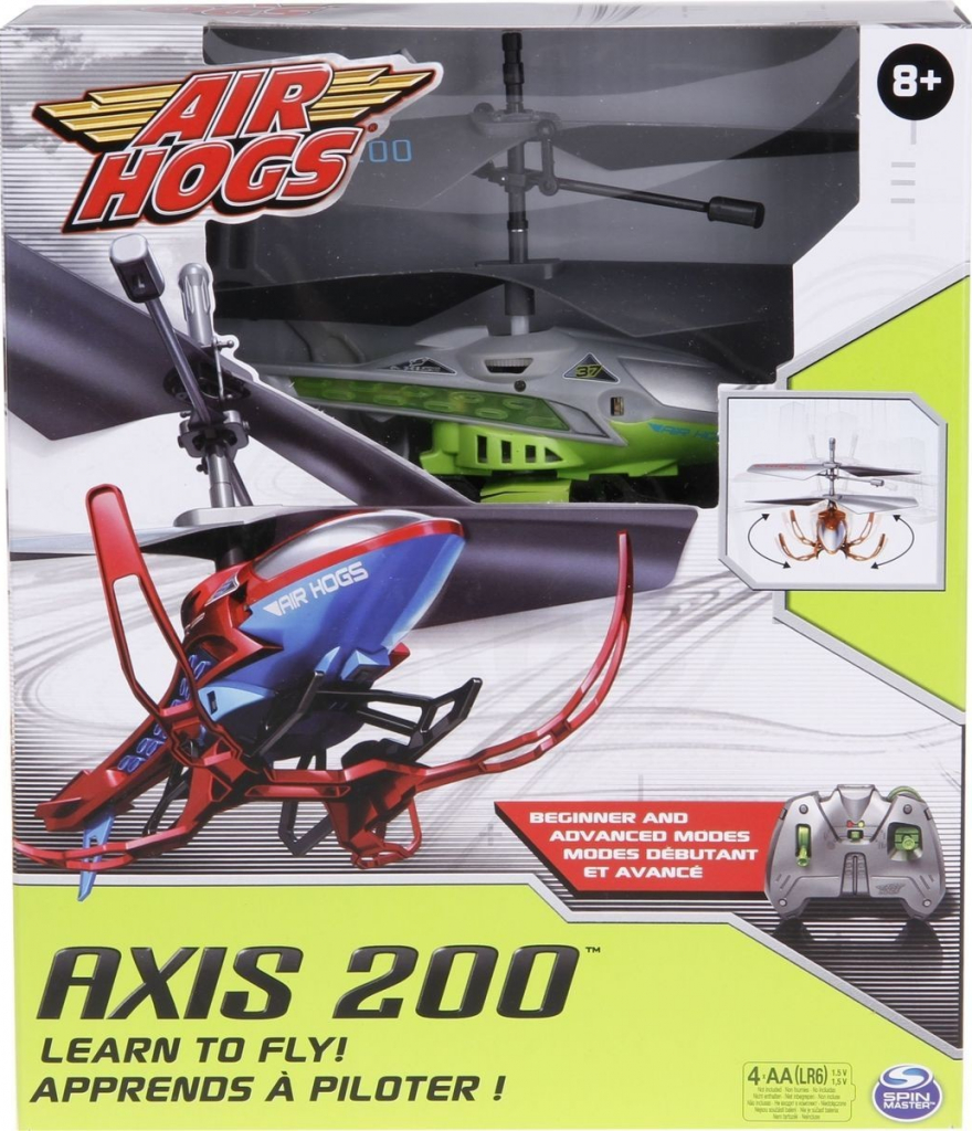 All4toys Air Hogs RC Helikoptéra Axis 200 stříbrná