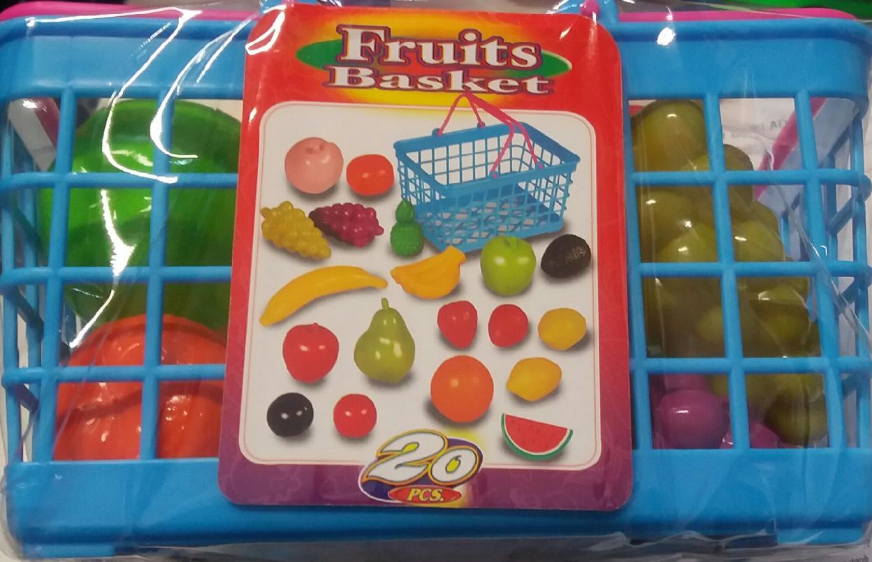 All4toys Plastový košík - ovoce