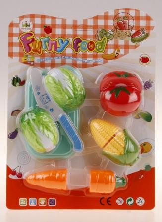 All4toys Krájecí jídlo - zelenina