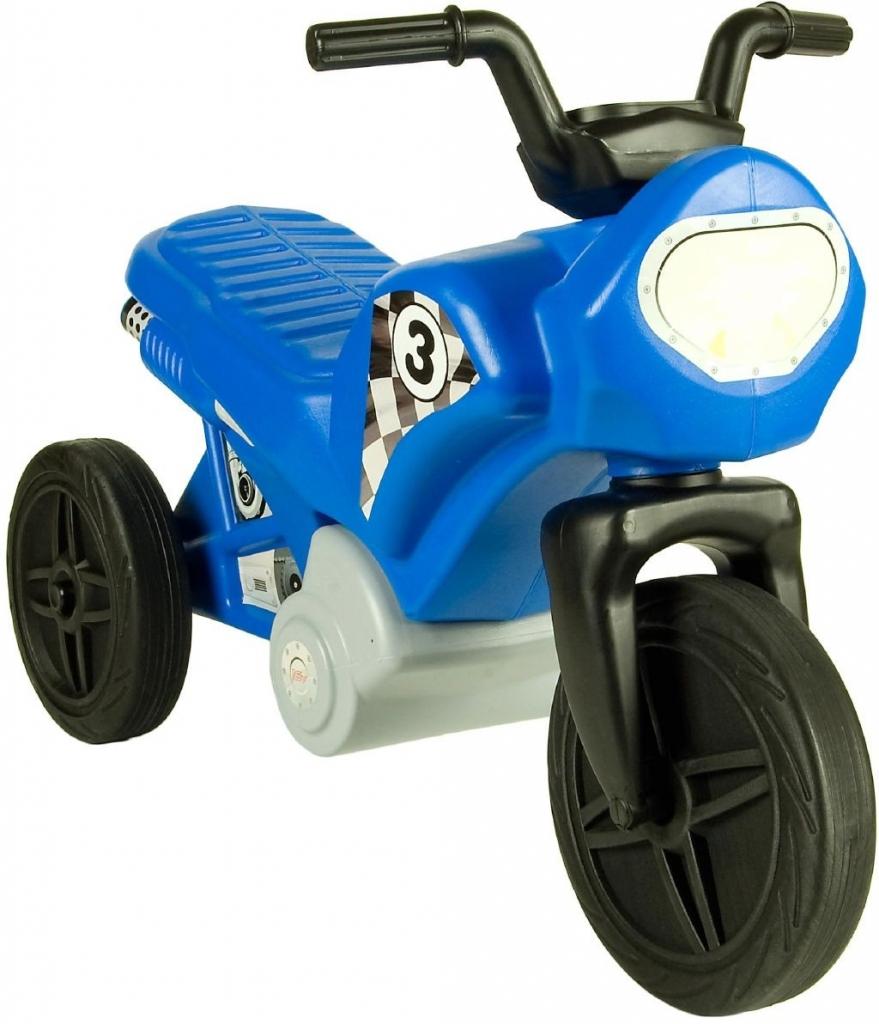 All4toys Motorka modrá - odrážedlo