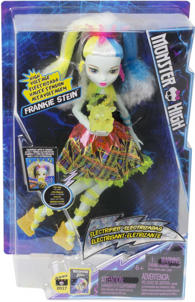 All4toys MONSTER HIGH FRANKIE V MONSTRÓZNÍM NAPĚTÍ