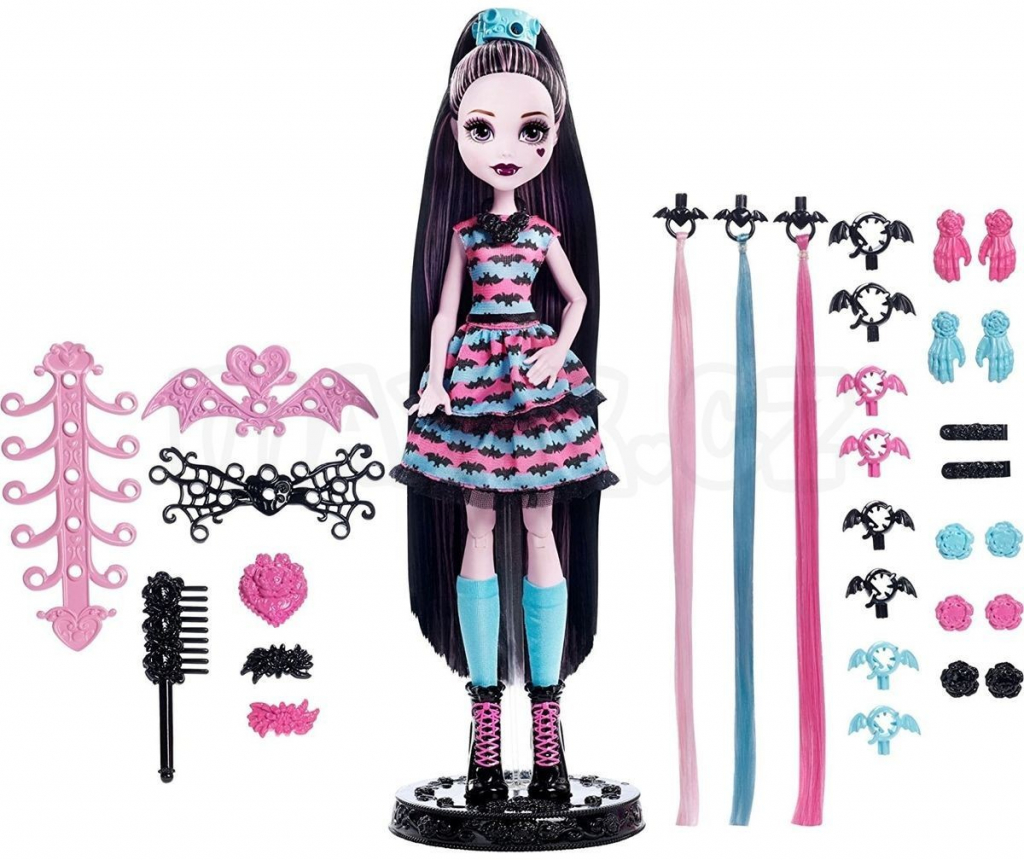 All4toys MONSTER HIGH DRACULAURA PÁRTY ÚČES