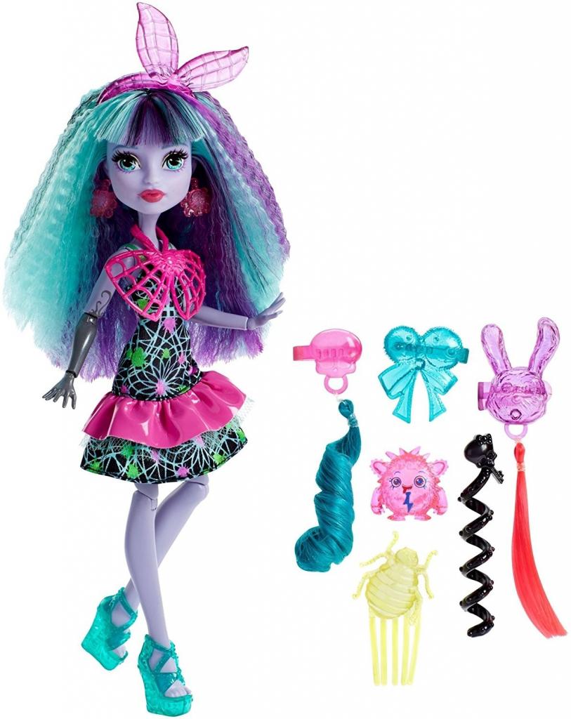All4toys Monster High Příšerka s mostrózními vlasy Twyla