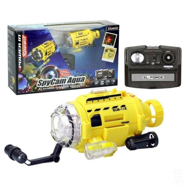 All4toys Ponorka Spy Cam Aqua s kamerou