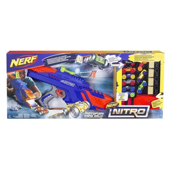 NERF Hasbro Nitro Motofury Rapid Rally