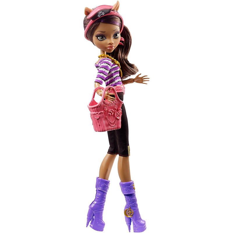 Alltoys MONSTER HIGH CLAWDEEN WOLF MOŘSKÉ PŘÍŠERKY - SHRIEK WRECKED