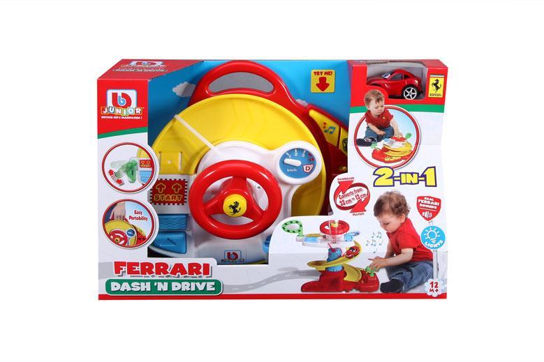 EPline Ferrari hrací sada s volantem