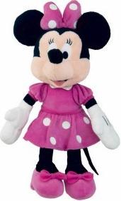 Plyšová Minnie Růžové šaty 25 cm