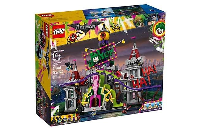 Lego Batman 70922 Jokerovo sídlo