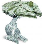 Mattel Hot Wheels Star Wars kolekce hvězdných lodí Millenium Falcon