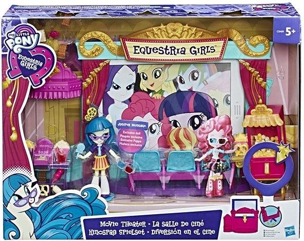 Herní set My Little Pony: Equestria Girls Tematický hrací set - kino