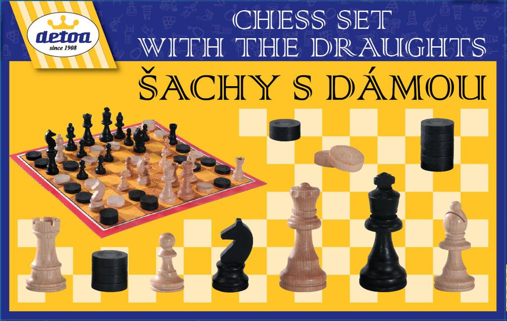 All4toys Šachy a dáma
