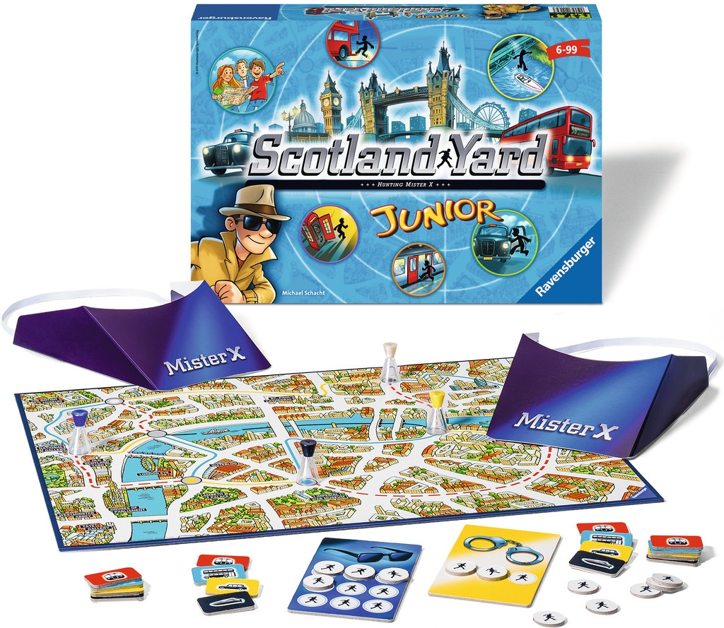 Ravensburger Scotland Yard junior Detektivní hra