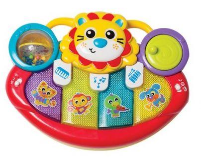 Fisher Price Playgro Multifunkční hudební nástroj Lvíček